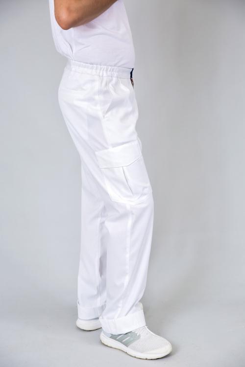 Spodnie medyczne męskie typu bojówki